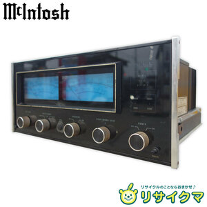 【中古】M▽マッキントッシュ McIntosh ステレオパワーアンプ 120V MC-2205 (22401)