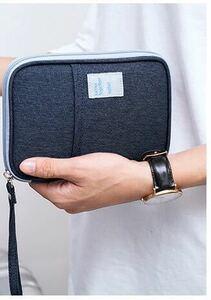 【新入荷】 マルチケース 母子手帳ケース パスポートケース カード収納 ネイビー