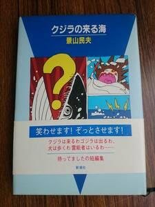 【ハードカバー単行本】「クジラの来る海 」新潮社/景山民夫(著者) 初版帯付*207