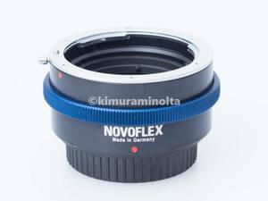 ドイツ製 ノボフレックス NOVOFLEX M4/3 - Nikon Fマウント マイクロフォーサーズのカメラにニコンレンズを装着 マウントアダプター MFT