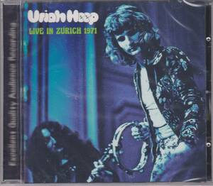 Uriah Heep - Live In Zurich 1971 ボーナス・トラック1曲収録CD