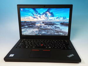 優良美品!Lenovo Thinkpad X260 Core i5-6300U-2.4Ghz/4GB/500GB/12.5/カメラ/Windows10/DtoD/WLAN/Ver.4 消毒済 リモートワーク