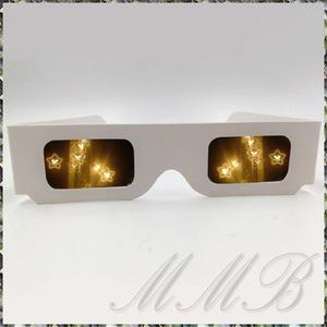 Rainbow Prism 3d Glasses night . glasses romance сhick illumination glass glasses flower fire glasses ( smiley Star ) [ free shipping ]