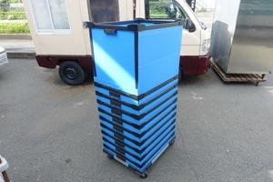 10 шт. комплект тележка имеется AQPAX легкий Orrico n самосвал la Orrico n49.5*64.5*50.5. старт  King контейнер место хранения коробка регулировка коробка pra контейнер
