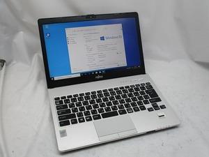 △富士通 LIFEBOOK S935/K Core i5 5300U 2.3GHz 2GB 320GB 13.3インチ FHD 1920×1080 Windows10 Pro 64bit