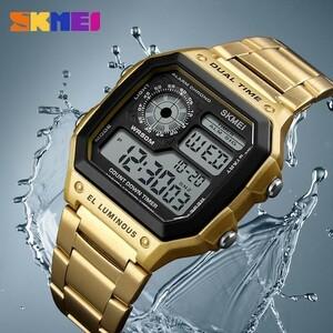 ★新品1円~★【最新】メンズデジタル腕時計【最安】2A4231 高級 ブランド 人気 オススメ おしゃれ ビジネス カジュアル