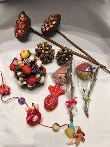 和雑貨 インテリア 手作り ハンドメイド まとめ売り 吊るし飾り 和風 ウサギ 金魚 小物 飾り物