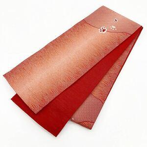 ☆新品☆卒業袴・浴衣・着物 にくきゅう模様入り半巾帯 6