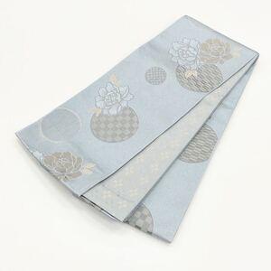 ☆新品☆卒業袴・浴衣・着物 花模様半巾帯 105