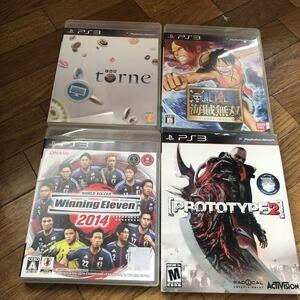 PS3 ソフト torne プロトタイプ2 ワンピース 4本 セット