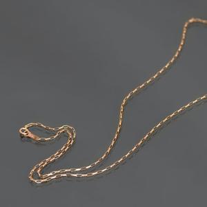 ネックレス チェーン 10金 ピンクゴールド ロングロールチェーン 幅1.3mm 長さ40cm K10PG 10k 貴金属