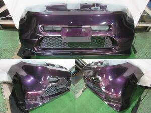 ●JB5 ライフ フロントバンパーフェース 紫色 RP34P