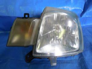 Y スズキ アルト HA24S 純正 ヘッドライト ヘッドランプ 左 STANLEY P4800 日産 ピノ HC24S マツダ キャロル HB24S HCR-208