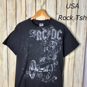 バンドT・ロックT USA古着 00's AC/DC ヴィンテージプリントTシャツ M オールド アメリカ古着 ●40