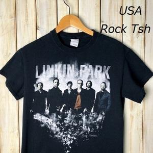 バンドT・ロックT USA古着 LINKIN PARK リンキンパーク Tシャツ オールド アメリカ古着 ヴィンテージ ミクスチャー ラウド ●41