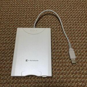 TOSHIBA 3.5フロッピーディスクドライブ USB