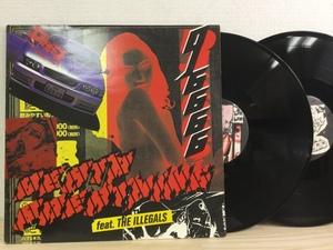 【F308】DJ 6666 Feat The Illegals / Death Breathing / UK / DHR / DHR-LP12 / LP×2