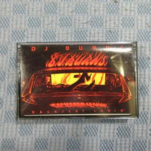 JA244● DJ BURNS 「BACKSEAT LOVIN'」輸入カセットテープ(CT)の商品画像