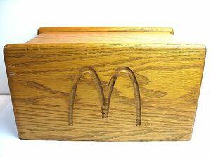 1980's Mcdonalds マクドナルド 店舗用 ビンテージ ナプキンディスペンサー ホルダー 検 非売品 DQ 本物 デイリークィーン 看板 バーガー