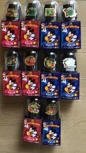 ディズニー ミッキー ピンバッジ 10個 世界の旅 ピンズコレクション 箱付き