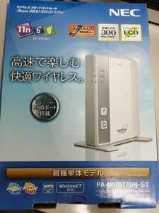 NEC 無線LAN WR8170N PA-WR8170N-ST 中古