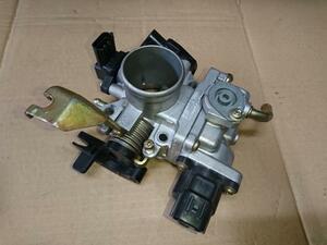 ラパン HE21S スロットルボディ 13400-83H01 ノンターボ用 良品