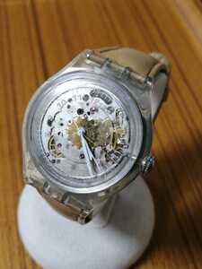 【動作正常】swatch スウォッチ / スイス製 SWISS MADE オートマチック AUTOMATIC 自動巻 23 TWENTY THREE JEWELS 腕時計