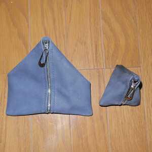 【中古】Bree ブリー 三角すい型 ポーチセット トライアングル ポーチ