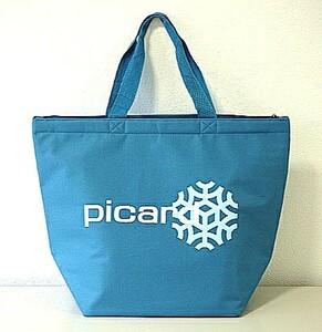 《新作 ピカール PICARD 保冷 トートバッグ グラン ブルー》 クーラーバッグ エコバッグ 青山 紀ノ国屋 ナショナル麻布 冷凍食品 フランス