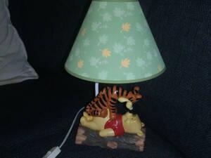 Disney ディズニー ミッキーマウス くまのプーさん ティガー ランプ 限定 レア 入手困難 フィギュア  人形
