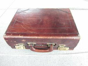 【送料無料】 ヴィンテージ トランクケース 革鞄 カバン アンティーク ビンテージ イギリス ロンドン  /489