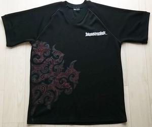 ピースメーカー PEACE MAKER トライバル メッシュ Tシャツ 【 L 】 ブラック 黒 マキシマムザホルモン LOUDNESS ラウドネス