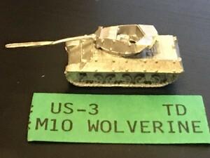 GHQ 1/285 M10 デストロイヤー襲撃砲戦車 ホワイトメタル