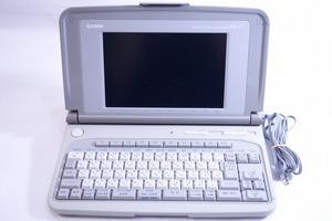 ■カシオ《ジャンク》部品取りに◎ワードプロセッサーPX-7 灰 O2