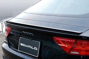 WALD ヴァルド アウディ A7 2011y~ トランクスポイラー