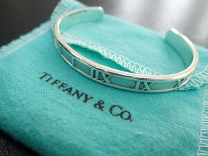 ティファニー TIFFANY&Co. アトラス バングル ブレスレット 925 レディース シルバーアクセサリー