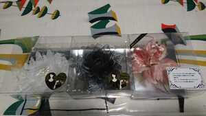 コサージュ 三個 結婚式 入園式 入学式 卒園式 卒業式