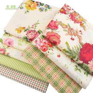 送料無料 ハンドメイド 花柄 花 生地 8枚セット 40×50 綿 はぎれ ハギレ お買い得 パッチワーク 裁縫 カットクロス レトロ