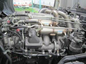 203117 三菱 ふそう スーパーグレード BDG-FS54JZ エンジン ミッション 6M70型 AT車