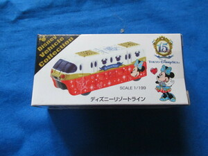 トミカ ディズニー TDR 15周年 記念 リゾートライン ミニーマウス 先頭車両 9月