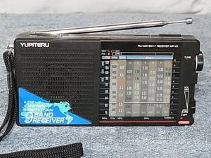 YUPITERU 【MR-101】 トランジスタラジオ 受信可 FMは76〜108MHzまで受信可能 管理番号 20052618