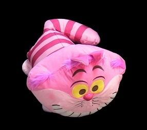 チェシャネコ ギガジャンボ 赤いほっぺの寝そべりぬいぐるみ 45㎝ / ふしぎの国のアリス ディズニー チェシャ猫 チシャ猫