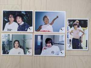 送料無料★滝沢秀明 写真5枚セット★ジャニーズJohnnysタッキーたきざわひであき