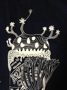 ミステリーカフェ Lサイズ Tシャツ aroundaglobe パキポディウム ビカクシダ 発泡 ヒョウ クワガタ 植物