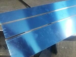 ステンレス切り板 約508×60×2枚、490×84×1枚