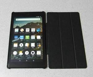 Amazon Fire HD 8 タブレット 8GB SG98EG microSDHC 32GB カバー付き