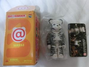 ベアブリック SERIES3 ANIMAL 全1点 シリーズ3 箱カード開封 商品ポリ袋未開封 BE@RBRICK