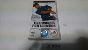 タイガーウッズ PGA ツアー 06 SONY PSP プレイステーション ポータブル PlayStation ソフト 動作確認済 ゲーム 中古 EA スポーツ