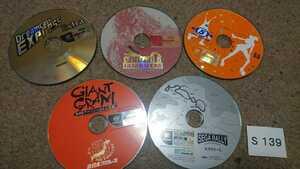 SEGA Dreamcast ドリームキャスト ドリキャス DC ゴジラ ジェネレーションズ セガラリー 2 5本 セット まとめて ROM のみ 中古