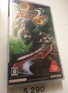 モンスター ハンター ポータブル 2nd G PSP カプコン SONY プレイステーション ポータブル PlayStation ソフト 動作確認済 中古 ゲーム